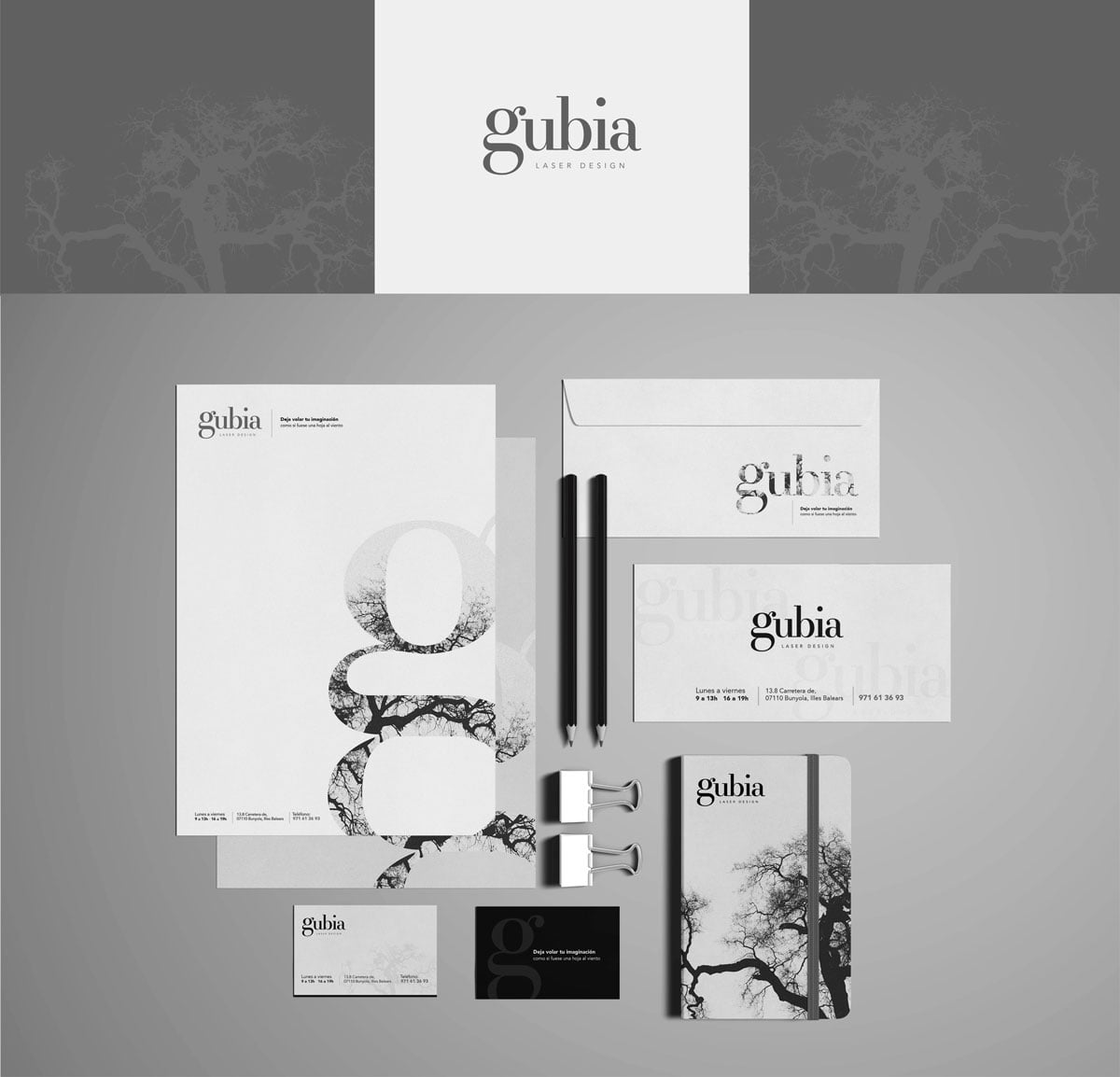 Gubia Design by Cuatroclicks