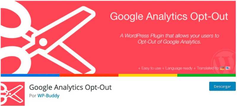 Google Analytics Opt-Out